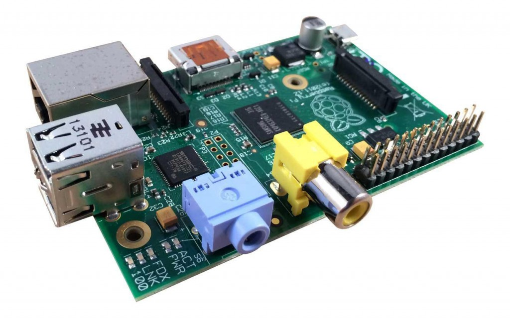 Raspberry Pi mainboard